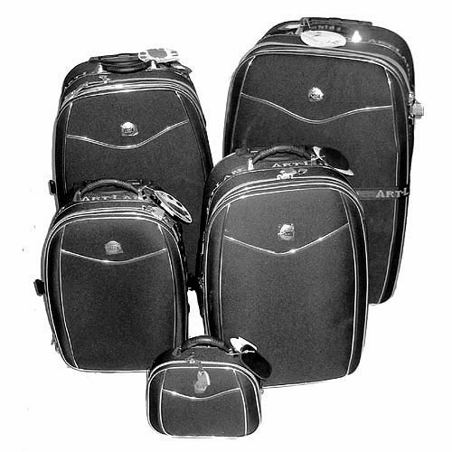 5x malle valise coffre trolley sac de voyage roulette ebay. Black Bedroom Furniture Sets. Home Design Ideas