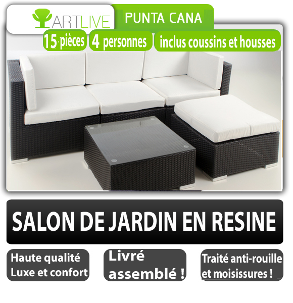 luxe neuf 1229 salon de jardin lit sofa meuble chaise en rotin transat r sine ebay. Black Bedroom Furniture Sets. Home Design Ideas