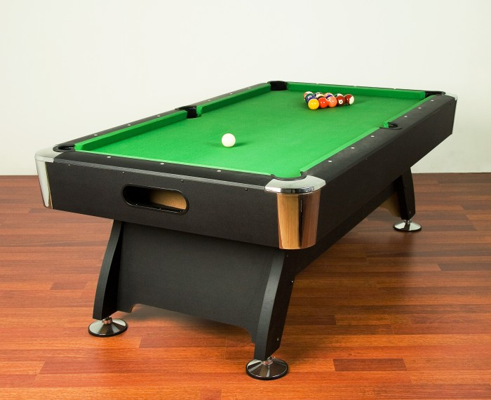 Billard americain snooker pool table billiard top new ebay - Taille billard snooker ...