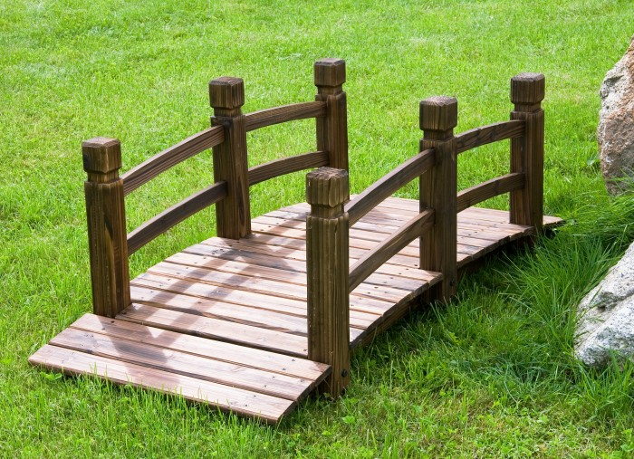 pont de jardin en bois neuf198 etang fontaine meuble decoration deco terrasse ebay. Black Bedroom Furniture Sets. Home Design Ideas