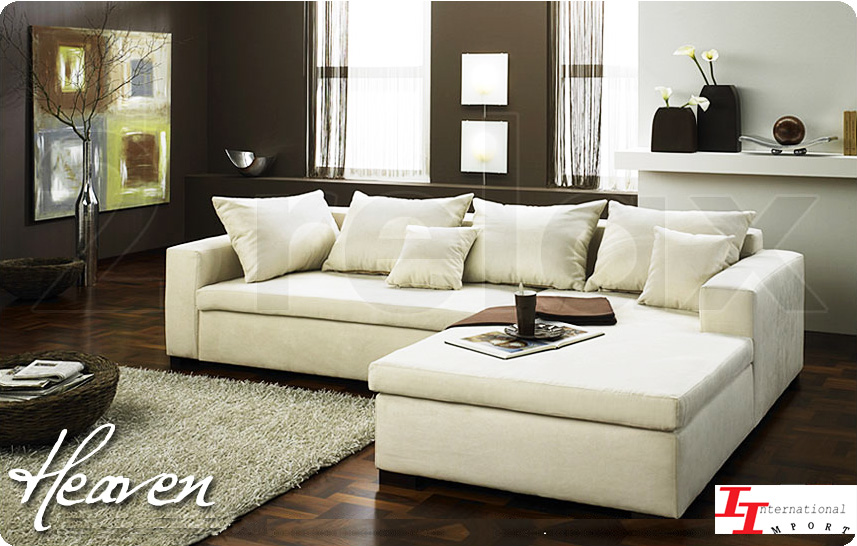 Salon d angle en cuir divan canap meuble sofa de coin ebay for Divan de coin